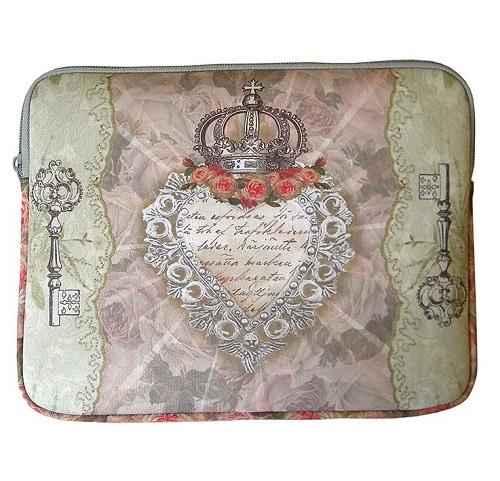 Vattenavisande iPad fodral med nyckel och hjärta med krona från Van Asch