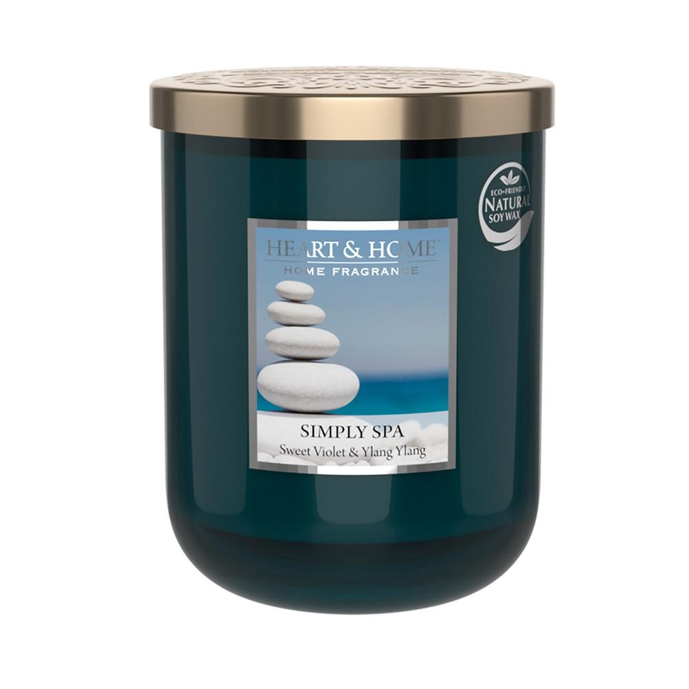 Doftljus med brinntid ca 75 timmar från Heart & Home. Med doft av hav,stenar och spakänsla