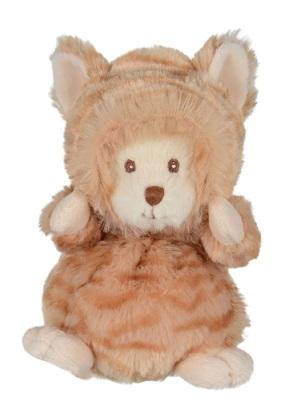 Katten Loke utklädd som Ziggy med avtagbar luva från Bukowski Design